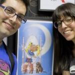 Exposición Sailor Moon Fan-arts en Café Comics